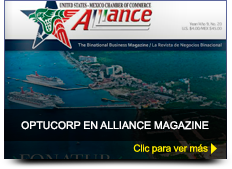 Optucorp en Alliance Magazine